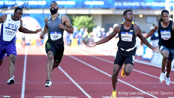 115. Is Bromell Now 100m Olympic Favorite?