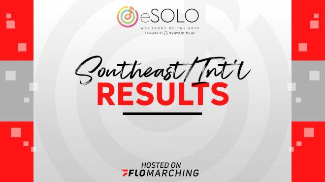 SE/Int'l WGI eSolo Scholarship Winners & Fan Favorite Announced!
