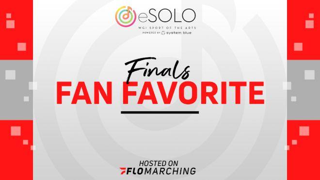 Fan Favorite: WGI eSolo Virtual Competition Finals
