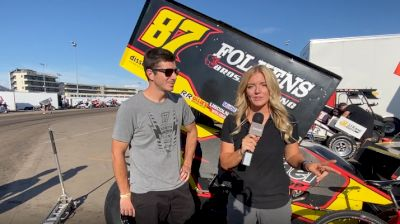 Points Leader Aaron Reutzel Ready For Knoxville, Huset's