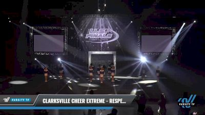 Clarksville Cheer Extreme - Respect [2021 L1 Mini Day 1] 2021 The U.S. Finals: Sevierville