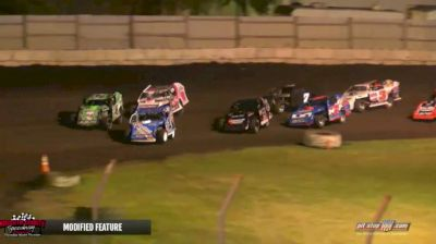 Feature Replay | IMCA Modifieds at Kossuth County Fair Race
