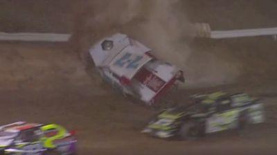 SportMod Crash | California IMCA Speedweek at Placerville