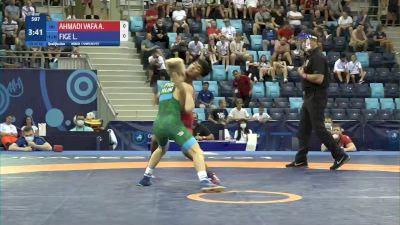 45 kg Qualif. - Ali Abdollah Ahmadivafa, Iran vs Levente Fige, Hungary
