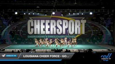 Louisiana Cheer Force - Gold [2020 Senior XSmall Coed 6 Division B Day 2] 2020 CHEERSPORT National Cheerleading Championship