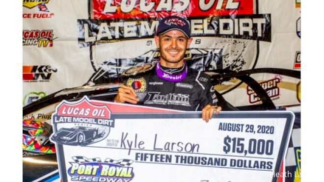 Kyle Larson Surprise Late Model Entry Tonight at Tazewell