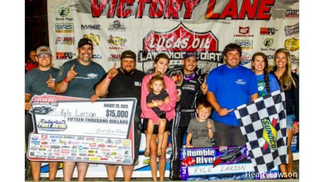 Kevin Rumley Not Surprised By Kyle Larson At Port Royal