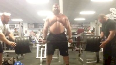 Eddie Hall Is Still A Beast