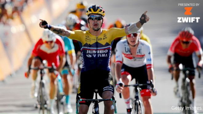 Recap: Roglic Wins First Test As Alaphilippe Stays In Yellow