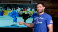 Olympian Stevens Analyzes Throws in Jiu-Jitsu