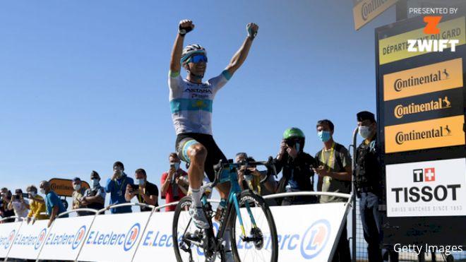 Yates Keeps Tour de France Lead As Lutsenko Wins Stage 6