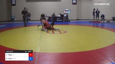 57 kg Cons 8 #1 - Julian Tagg, Elite Accelerator Program vs RayVon Foley, TMWC