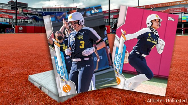 Athletes Unlimited & Topps Partner To Produce Exclusive Trading Cards