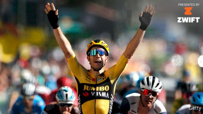 Recap: Van Aert Wins Wind-Blown Stage 7 Of Tour de France