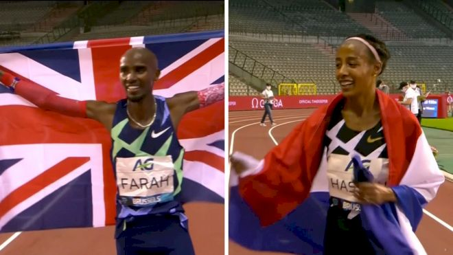 Farah, Hassan Break One-Hour World Records
