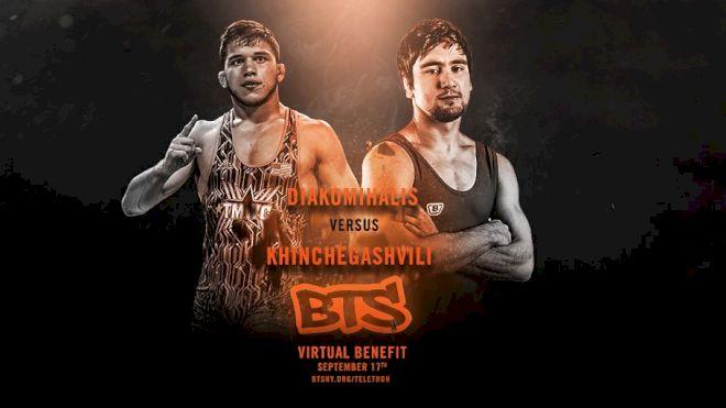 Yianni Diakomihalis vs Vladimer Khinchegashvili Set For BTS, Sept. 17th