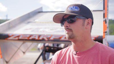 Brock Zearfoss Ready For Tusky At Home Track