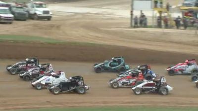 Make Up Feature Replay | USAC Sprints at Lincoln Park Speedway