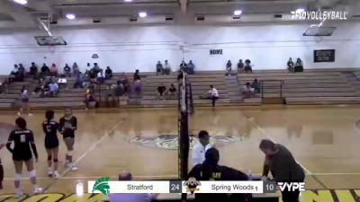 Replay: Stratford vs Spring Woods   Oct 12 @ 5 PM