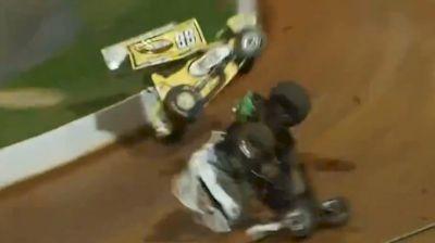 Esh/Gee Wild Double Flip | Tuscarora 50 at Port Royal Speedway