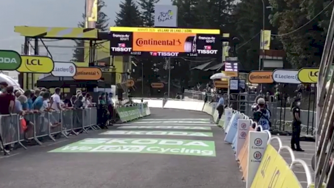 Finish Line Report: Stage 16