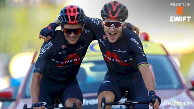 Roglic Retains TDF Lead As Kwiatkowski Wins Stage 18