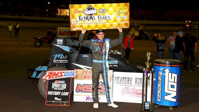 Ruble Rules Haubstadt Hustler for First USAC Win