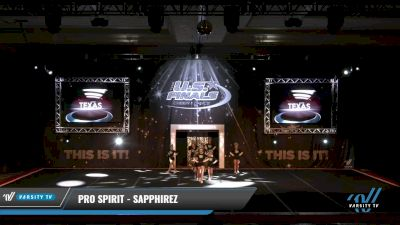 Pro Spirit - SAPPHIREZ [2021 L2.1 Junior - PREP 2] 2021 The U.S. Finals: Grapevine