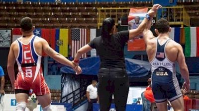 Pantaleo Wrestling With Echemendia And Competing In Cuba