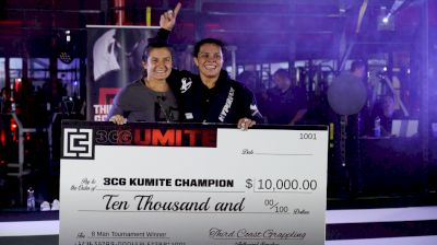 Ana Carolina Vieira Claims 3CG's Inaugural Queen Of The Kumite Title