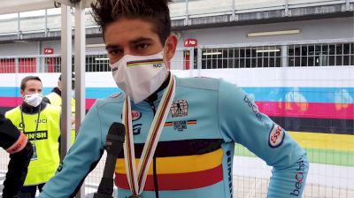 Wout van Aert: 'Nothing To Regret, But I Like Gold More'