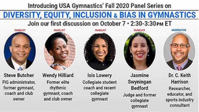 USA Gymnastics Announces October 7 Diversity, Equity, & Inclusion Panel