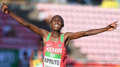 Rhonex Kipruto Is Running A Solo 10,000m In Nairobi
