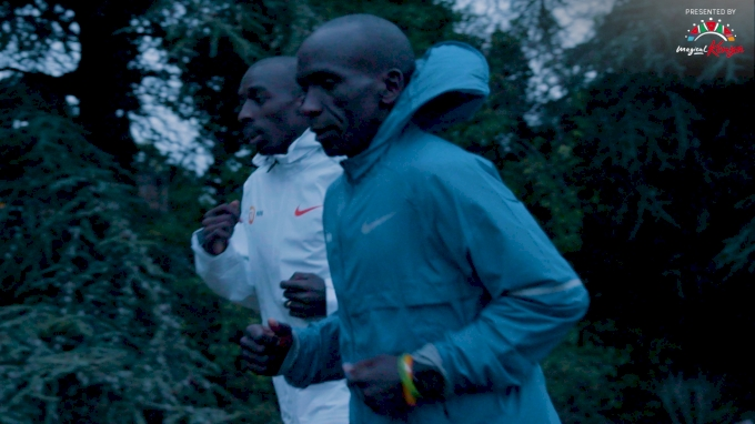 London Marathon Morning Training Session