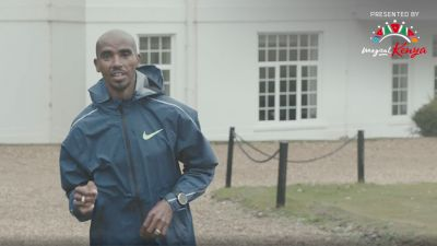 Mo Farah Preps For His London Pacing Duties