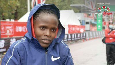 Brigid Kosgei Dominates Another Major Marathon
