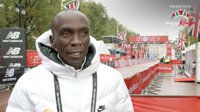 """It's Not The End Of The World:"" Kipchoge Explains 8th Place Finish"