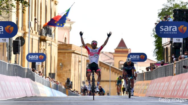 Ulissi Wins Stage 2 Of Giro d'Italia After Uphill Battle