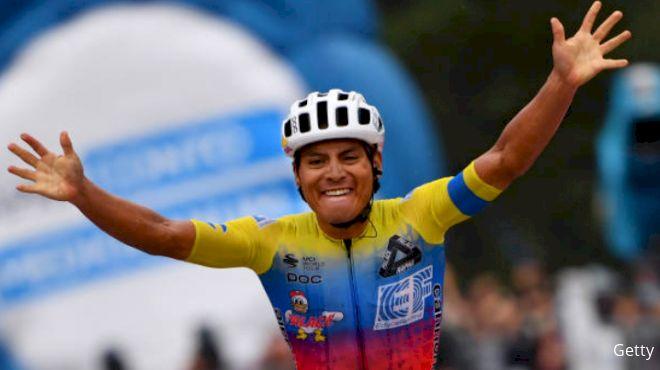 Ecuadorian Jonathan Caicedo Wins Giro 3rd Stage, Thomas Suffers Time Blow