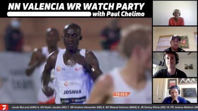 Men's 10K & Women's 5K WR Watch Party with Paul Chelimo