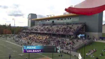 Replay: Maine vs UAlbany | Oct 23 @ 1 PM