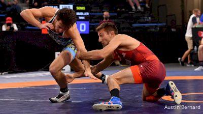 57 kg Semifinal - Vitali Arujau, TMWC / Spartan Combat WC vs Jack Mueller, TMWC / New York City RTC