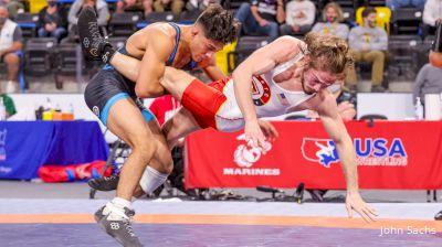65 kg Quarters - Joseph McKenna, TMWC / Penn RTC vs Andrew Alirez, Unattached