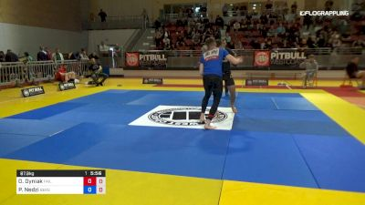 Oleksii Dyniak vs Pawel Nedzi 2019 2nd ADCC European Trials