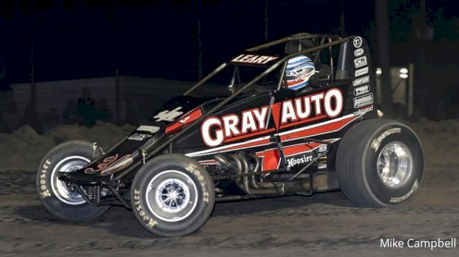 Leary DQ'd from Gas City Win; Suspended by USAC