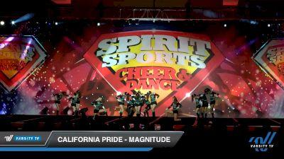 California Pride - Magnitude [2020 L3 Junior - D2 - B Day 2] 2020 Spirit Sports: Duel In The Desert