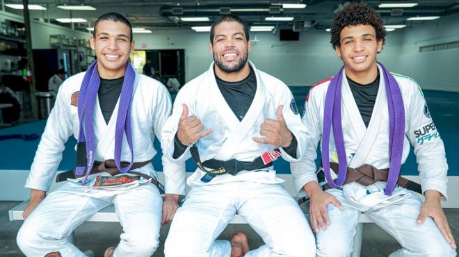 Ruotolo Bros Earn Brown Belts From Andre Galvao