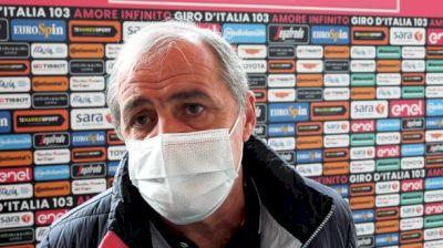 Giro Boss Vegni: Teams Need To 'Respect The Bubble'