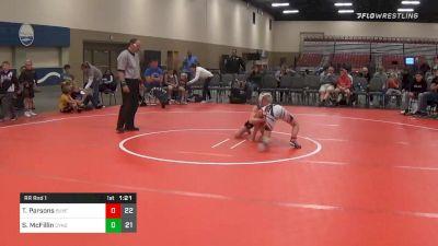 Prelims - Talan Parsons, Buxton Extreme (NJ) vs Shane McFillin, Dynasty No Limit (NJ)