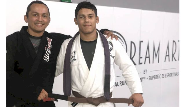 Teen Standout Mica Galvao Promoted To Brown Belt